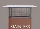 Stainless Chimney Covers | Stainless Raincaps
