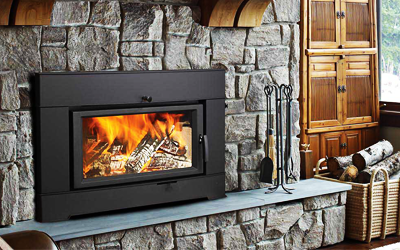 Wood Fireplace Inserts and Installation in Hamilton, Burlington, Oakville, Mississauga, Etobicoke, Toronto,      Ontario